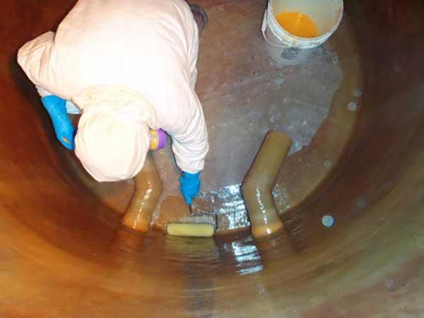 fiberglass tank relining, tank inspection, tank repair