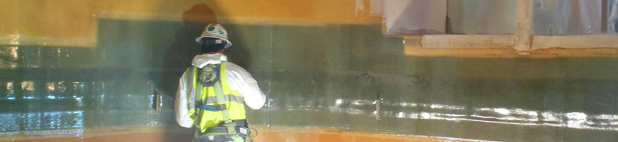 fiberglass tank repair