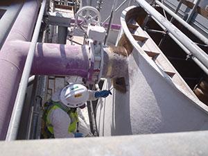 FRP tank corrosion repair tank liner tank liner repairs