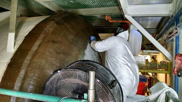 tank linings coatings surface prep