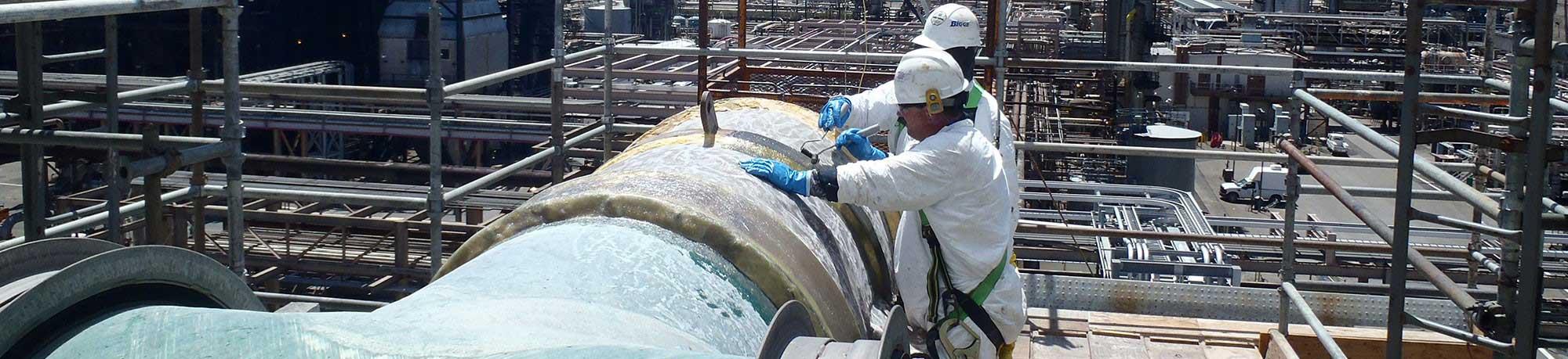 fiberglass pipe repair
